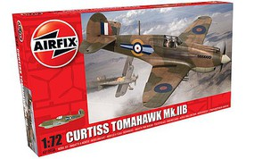 Airfix 1/72 Curtis Hawk 81-A-2 Plastic Model Airplane Kit #01003