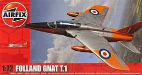 Airfix Folland Gnat Plastic Model Airplane Kit 1/72 Scale #01006