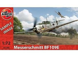 Messerschmitt Bf 109E Plastic Model Airplane Kit 1/72 Scale #01008