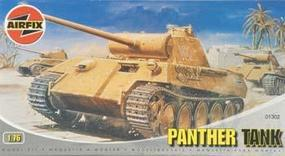 Airfix Panther Tank Plastic Model Military Vehicle Kit 1/76 Scale #01302
