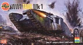 Airfix WWI Male Tank Plastic Model Military Vehicle Kit 1/76 Scale #01315