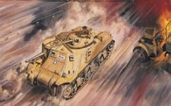 Airfix Lee Grant Tank -- Plastic Model Military Vehicle Kit -- 1/76 Scale -- #01317