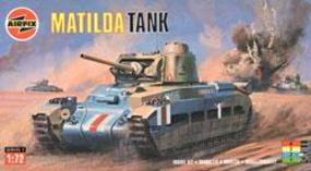 Airfix Matilda Tank Plastic Model Military Vehicle Kit 1/76 Scale #01318