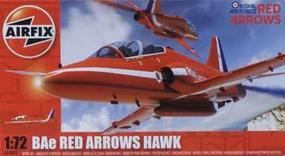Airfix BAe Red Arrows Hawk RAF Aerobatic Team Aircraft Plastic Model Airplane Kit 1/72 #02005