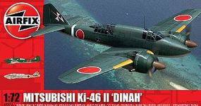 Airfix Mitsubishi KI-46-11 Dinah Plastic Model Airplane Kit 1/72 Scale #02016