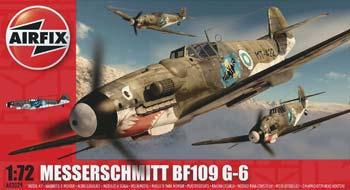 Airfix Me Bf 109G -- Plastic Model Airplane Kit -- 1/72 Scale -- #02029