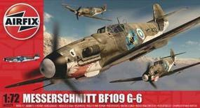 Airfix Me Bf 109G Plastic Model Airplane Kit 1/72 Scale #02029