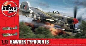 Airfix Hawker Typhoon Plastic Model Airplane Kit 1/72 Scale #02041