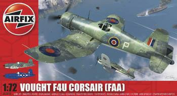 Airfix 1/72 Vought F4U Corsair Fighter (D)