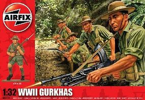 Airfix WWI Gurkhas Plastic Model Military Figure 1/32 Scale #02719