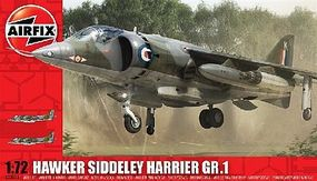 Airfix Hawker Siddeley Harrier GR1 Plastic Model Airplane Kit 1/72 Scale #03003