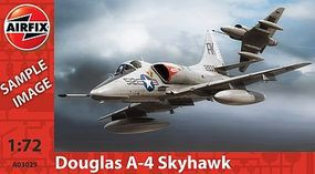 Airfix Douglas A-4 Skyhawk Plastic Model Airplane Kit 1/72 Scale #03029