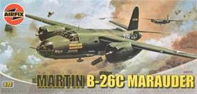 Airfix Martin B26C Marauder WWII Bomber (Re-Issue) Plastic Model Airplane Kit 1/72 Scale #04015