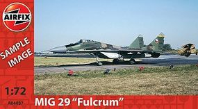 Airfix MiG 29 Fulcrum Plastic Model Airplane Kit 1/72 Scale #04037