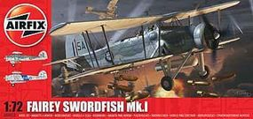Airfix Swordfish Plastic Model Airplane Kit 1/72 Scale #04053