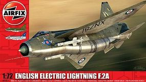 Airfix EE Lightning F2A Supersonic Jet Fighter Plastic Model Airplane Kit 1/72 Scale #04054