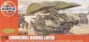 Airfix Churchill Bridgelayer Plastic Model Military Vehicle Kit 1/72 Scale #04301