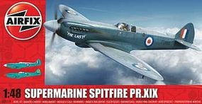 Airfix Supermarine Spitfire MkXIX Plastic Model Airplane Kit 1/48 Scale #05119