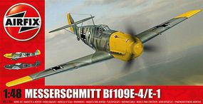 Airfix Messerschmitt 109E Plastic Model Airplane Kit 1/48 Scale #05120