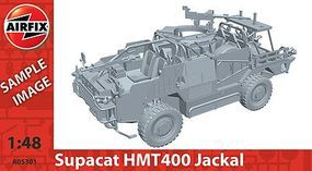 Airfix Jackal Weapons Platform Plastic Model Military Vehicle Kit 1/48 Scale #05301