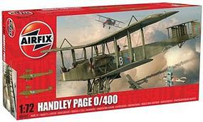 Airfix Handley Page 0/400 Plastic Model Airplane Kit 1/72 Scale #06007