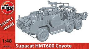 Airfix Coyote Support Vehicle Plastic Model Military Vehicle Kit 1/48 Scale #06302