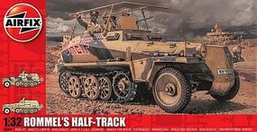 Airfix Rommels Half Track Vehicle Plastic Model Military Vehicle Kit 1/32 Scale #06360