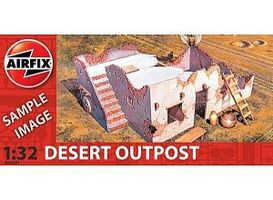 Airfix Desert Outpost Ruined Building Plastic Model Military Diorama Kit 1/32 Scale #06381