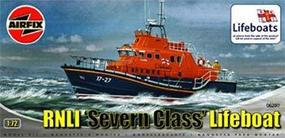 Airfix RNLI Severn Class Lifeboat (Re-Issue) Plastic Model Military Ship Kit 1/72 Scale #07280