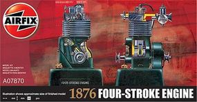 Airfix 4-Stroke Petro Engine Plastic Model Engine Kit 1/32 Scale #07870