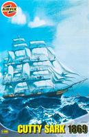 Airfix Cutty Sark Ship Plastic Model Sailing Ship Kit 1/130 Scale #09253