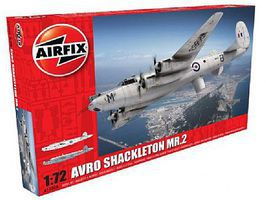 Airfix Avro Shackleton MR2 British Long-Range Patrol Plastic Model Airplane Kit 1/72 Scale #11004