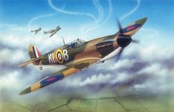 Airfix Supermarine Spitfire Mk 1A Aircraft -- Plastic Model Airplane Kit -- 1/24 Scale -- #12001