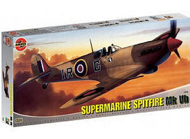 Airfix Supermarine Spitfire Mk VB Aircraft Plastic Model Airplane Kit 1/24 Scale #12005