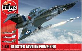 Airfix Gloster Javelin Plastic Model Airplane Kit 1/48 Scale #12007