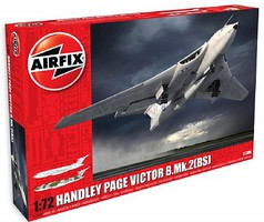 Airfix Handley Page Victor B2 Jet Bomber (New Tool) Plastic Model Airplane Kit 1/72 Scale #12008