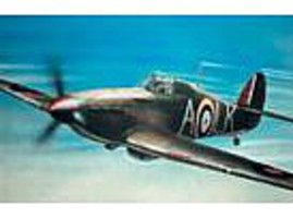 Airfix Hawker Hurricane Mk 1 Aircraft Plastic Model Airplane Kit 1/24 Scale #14002