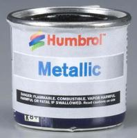 Humbrol Metallic Black 1/2 oz