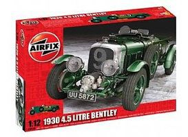 Airfix 1930 4.5 Liter Bentley Deluxe Sportster Plastic Model Military Vehicle 1/12 Scale #20440