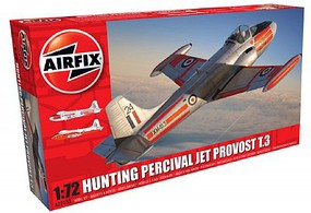 Airfix Hunting BAC Percival Jet Provost T3 Aircraft Plastic Model Airplane Kit 1/72 Scale #2103