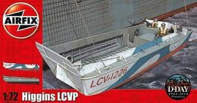 Airfix Higgins Boat WWII LCVP (New Tool) Plastic Model Airplane Kit 1/72 Scale #2340