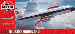 Airfix Vickers Vanguard British Turboprop Airliner Plastic Model Airplane Kit 1/144 Scale #3171