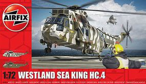 Airfix Westland Sea King HC4 Plastic Model Helicopter Kit 1/72 Scale #4056