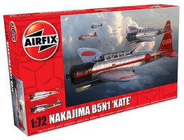 Airfix Nakajima B5N1 Kate Torpedo Bomber Plastic Model Airplane Kit 1/72 Scale #4060