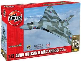 Airfix Avro Vulcan XH558 Aircraft Plastic Model Airplane Kit 1/72 Scale #50097