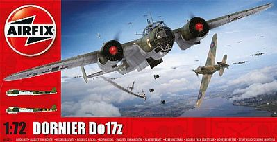 Airfix Dornier Do17Z Bomber (New Tool) -- Plastic Model Airplane Kit -- 1/72 Scale -- #5010