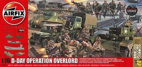 Airfix D-Day Operation Overlord with Paint & Glue Plastic Model Airplane Kit 1/72 Scale #501