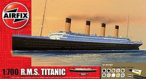 Airfix RMS Titanic Ocean Liner (Re-Issue) Plastic Model Ship Kit 1/700 Scale #50164