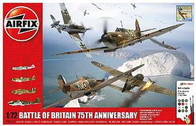 Airfix Battle of Britain 75th Anniversary Gift Set Plastic Model Airplane Kit 1/72 Scale #50173