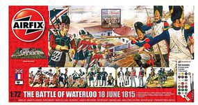 Airfix Battle of Waterloo June 1815 Gift Set Plastic Model Military Diorama Kit 1/72 Scale #50174